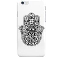 Hamsa Khamsa- Hand of Fatima iPhone Case/Skin