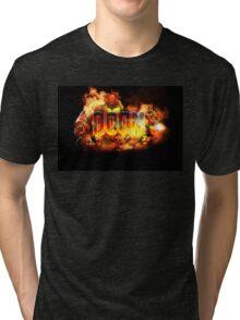 DOOM - ArtWork Tri-blend T-Shirt
