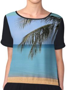 From Where You'd Rather Be Chiffon Top