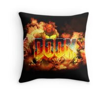 DOOM - ArtWork Throw Pillow