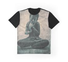 Buddha Contemplation Graphic T-Shirt