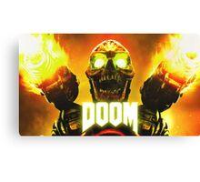 Doom - Skull Artwork Canvas Print