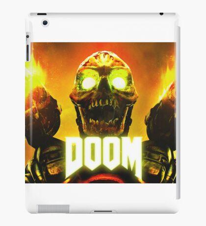 Doom - Skull Artwork iPad Case/Skin