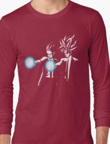 Gohan and goku action Long Sleeve T-Shirt