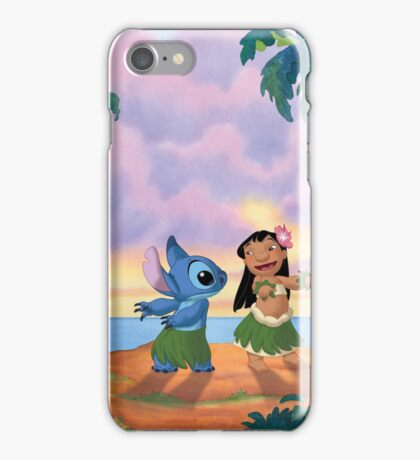 Lilo & Sitch Party Time iPhone Case/Skin