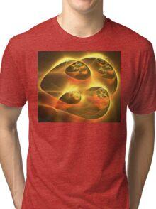 Gold Sky Ships Tri-blend T-Shirt