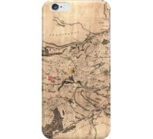 Map of the parish of Sheffield, 1795 iPhone Case/Skin