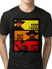 Back to the western Tri-blend T-Shirt
