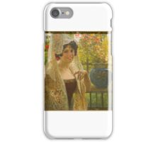 JOSE GARATE (), On the fence iPhone Case/Skin