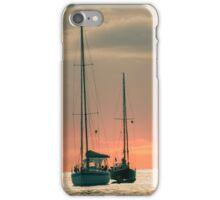 Sunset Yachts iPhone Case/Skin
