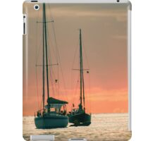 Sunset Yachts iPad Case/Skin
