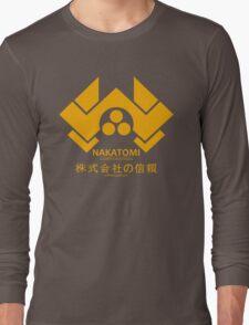 NAKATOMI PLAZA - DIE HARD BRUCE WILLIS (YELLOW) Long Sleeve T-Shirt