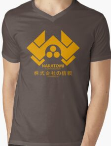 NAKATOMI PLAZA - DIE HARD BRUCE WILLIS (YELLOW) Mens V-Neck T-Shirt