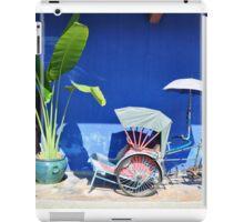Blue Mansion, Penang iPad Case/Skin