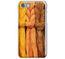 Knotted Scarves iPhone Case/Skin
