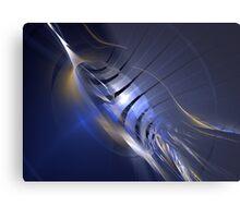 Blue Swordfish Metal Print