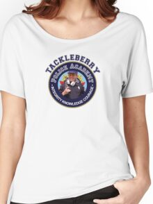 TACKLEBERRY - POLICE ACADEMY MOVIE  Women's Relaxed Fit T-Shirt