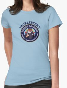 TACKLEBERRY - POLICE ACADEMY MOVIE  Womens Fitted T-Shirt
