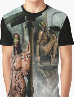 Steampunk Painting 009 Graphic T-Shirt