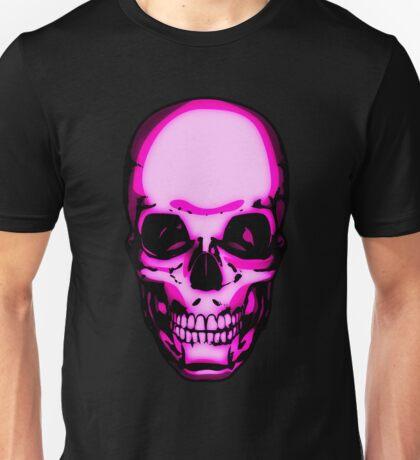 Too Many Pink Skulls Unisex T-Shirt