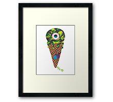 Eye-ce Cream Framed Print