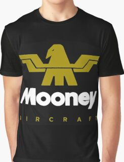 Mooney Vintage Aircraft Graphic T-Shirt