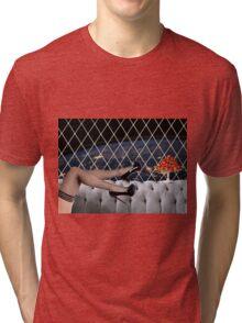 SPACE STATION Tri-blend T-Shirt