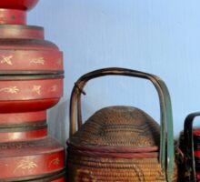 Malaysia truly Asia, rice baskets Sticker