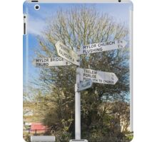 Mylor Signpost iPad Case/Skin