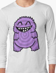 Purple Fuzz Monster Long Sleeve T-Shirt