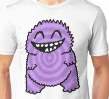 Purple Fuzz Monster Unisex T-Shirt