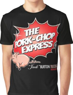 PORK-CHOP EXPRESS JACK BURTON BIG TROUBLE IN LITTLE CHINA Graphic T-Shirt