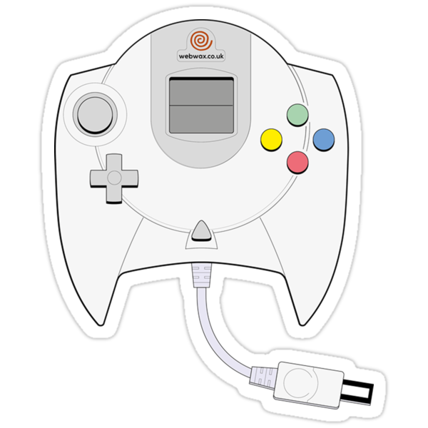 Dreamcast Controller by webwax