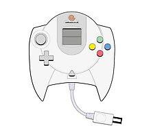 Dreamcast Controller Photographic Print