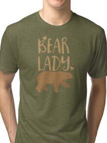 Bear Lady Tri-blend T-Shirt