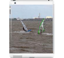 Wind surfing 05 iPad Case/Skin