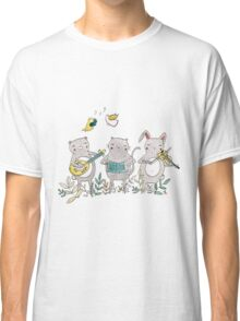 Animal Musicians Classic T-Shirt