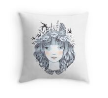 Back to my roots Throw Pillow