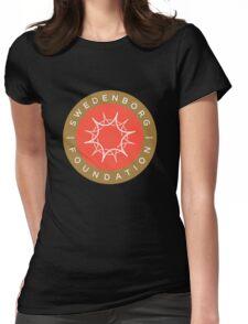 "Swedenborg Foundation ""Crest"" Logo Womens Fitted T-Shirt"