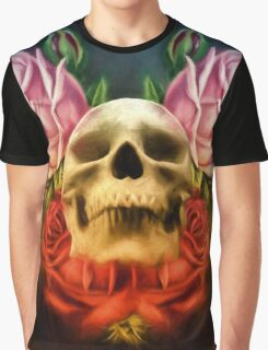 Skull And Rose's  Graphic T-Shirt