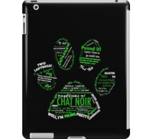 Chat Noir iPad Case/Skin