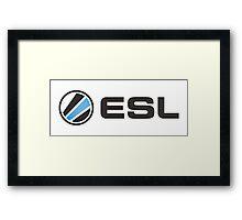 ESL - CS:GO  Framed Print