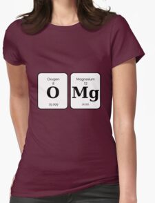 OMG - Oxygen Magnesium Womens Fitted T-Shirt