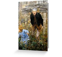 Jules Bastien-Lepage (French, ) Le Père Jacques (The Wood Gatherer),  Greeting Card