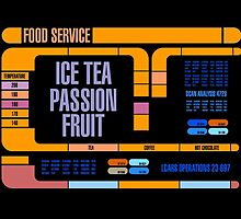 Captains Drink  Passion Fruit Ice Tea by simonbreeze