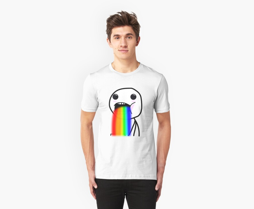 Rainbow Drool by Giii