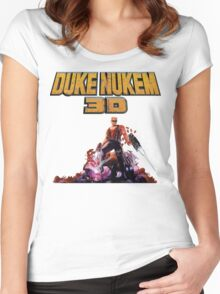 Duke 3D Women's Fitted Scoop T-Shirt