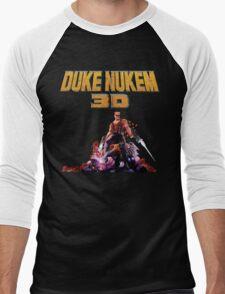 Duke 3D Men's Baseball ¾ T-Shirt