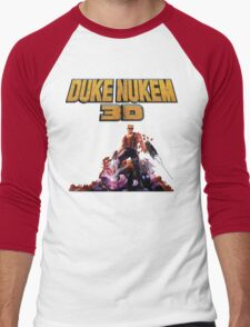 Duke 3D Men's Baseball ¾ T-Shirt