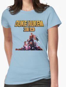 Duke 3D Womens Fitted T-Shirt